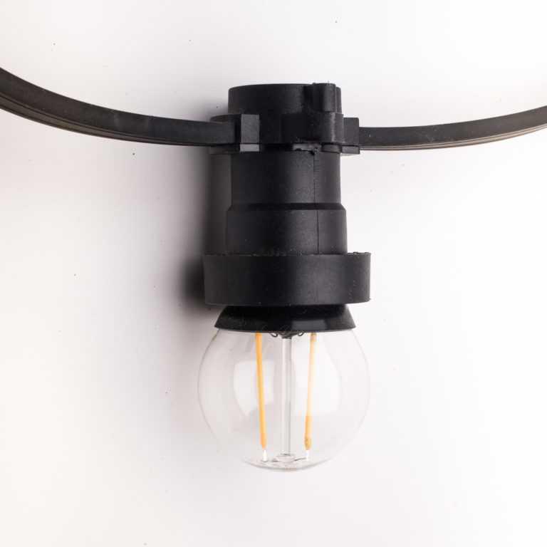 żarówka E27 LED filament mała