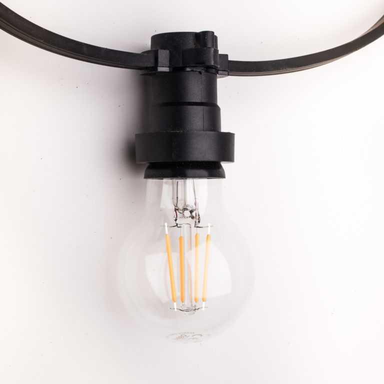 girlanda e27 led filament G60