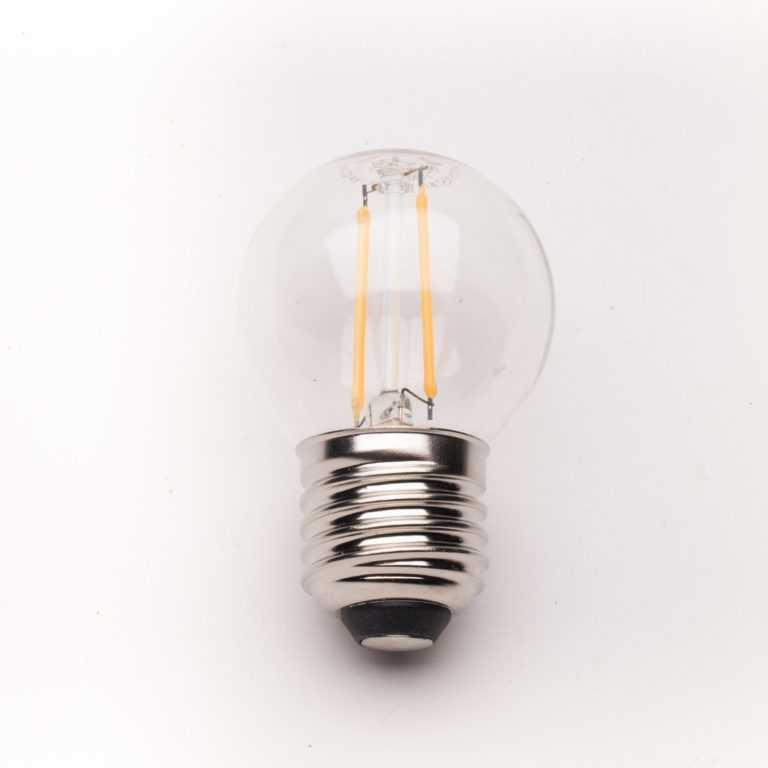 żarówka-E27_LED_przezroczysta_filament_G45